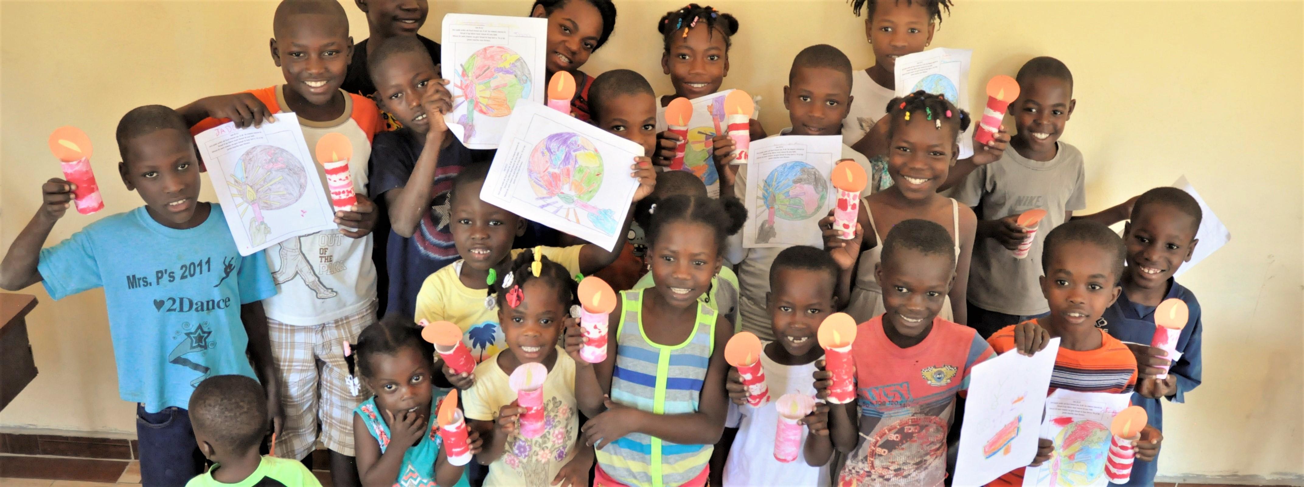 Haiti School Jesus Light of the World