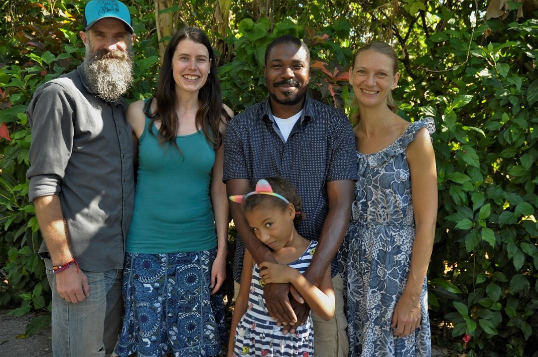 Haitian missionaries in Desarmes
