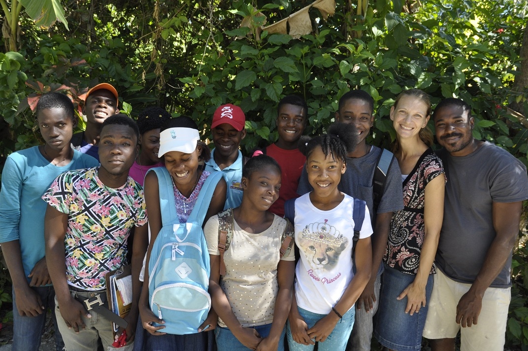 Haitian agriculture education program