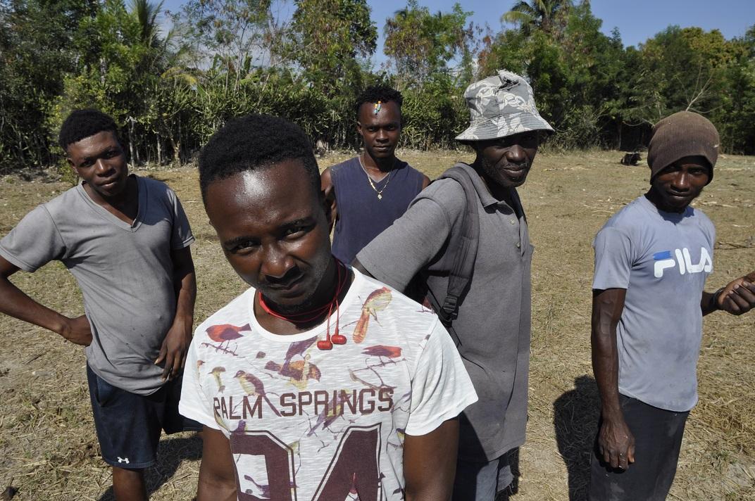 Haitian men