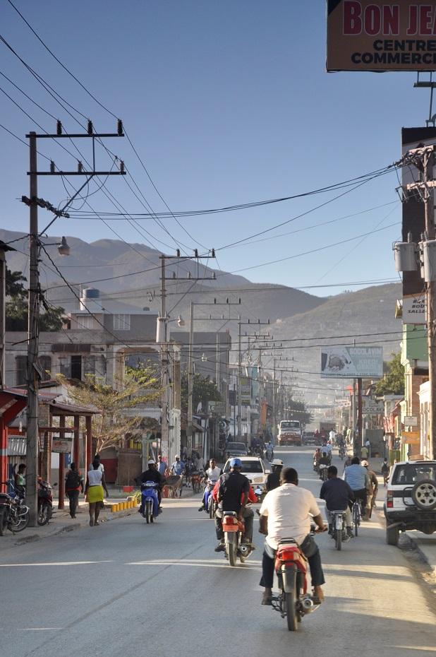 Haiti cityscape